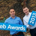 Pictured at the launch of the Realex Fire Web Awards 2013, were Paul Dunne, head of business development, Realex Fire; Damien Mulley, founder and organiser of the Realex Fire Web Awards
