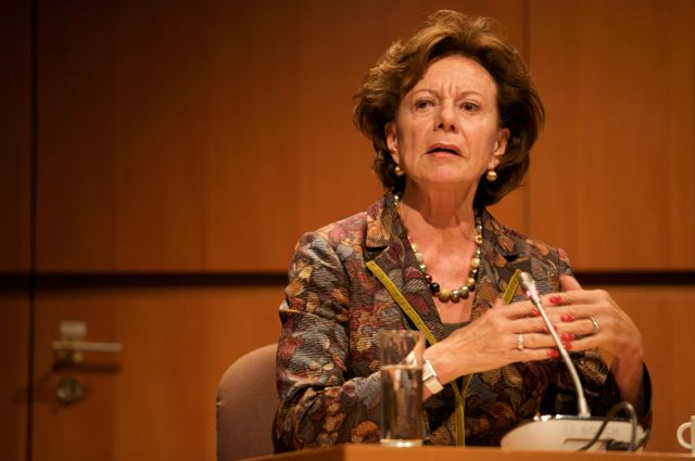 Neelie Kroes, Vice-President of the European Commission responsible for the Digital Agenda
