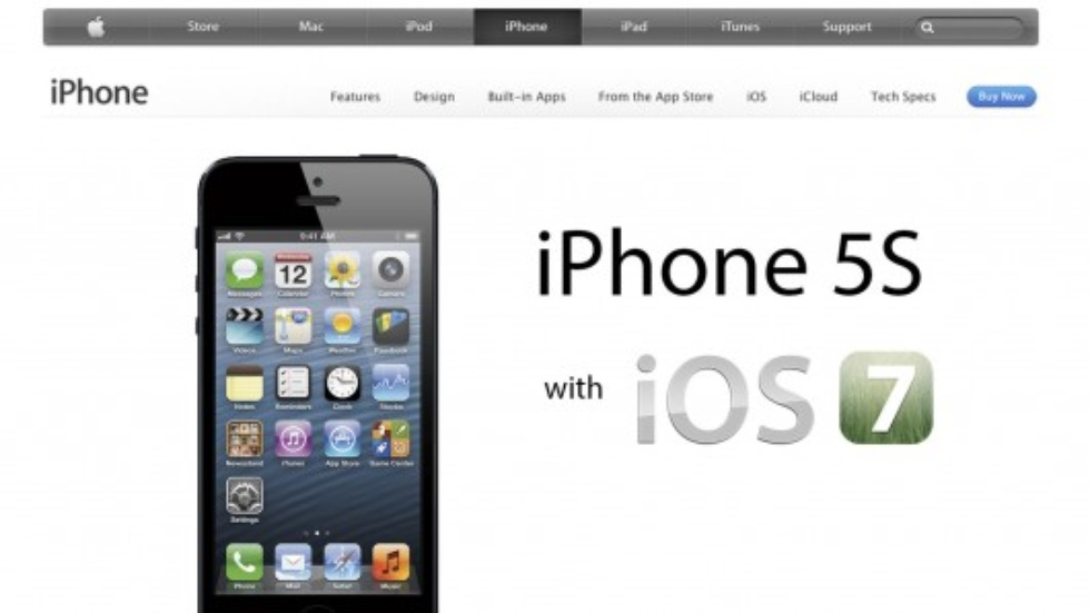 Apple is banking that its iPhone 5S operating system is the killer feature - not the design or the outrageous price