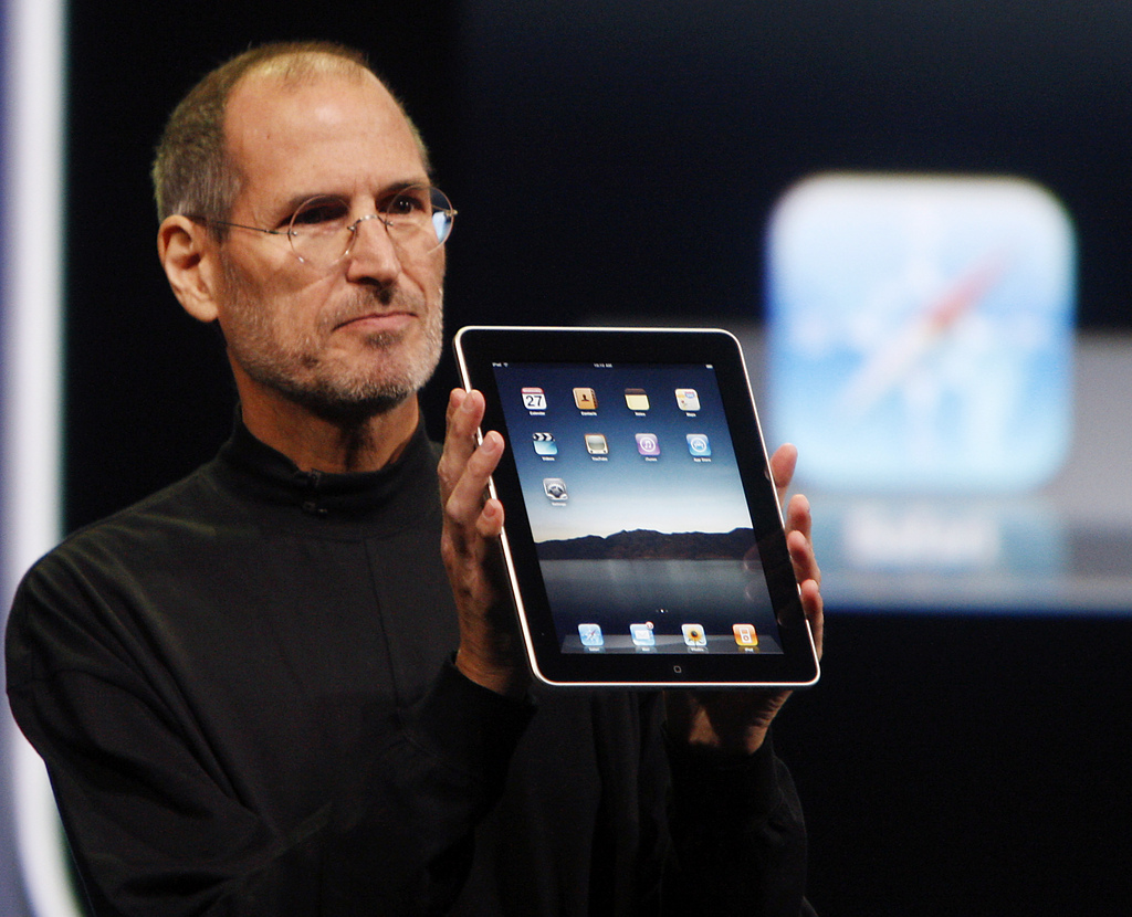 'We look at the tablet and we think it's gonna fail' - Steve Jobs in 2003