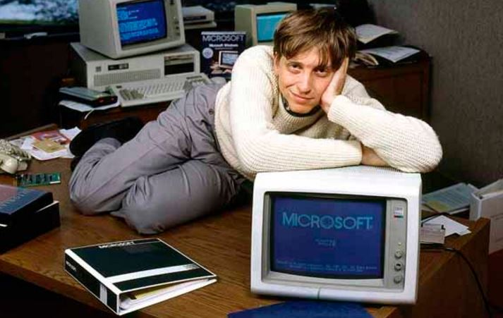 bill gates when he was 19